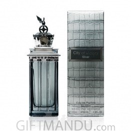 City of Victory EDP Perfume For Men - Silver