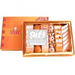 Assorted Sweets Box from Angan - 1kg