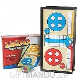 Travel Folding Magnetic Ludo Game Set