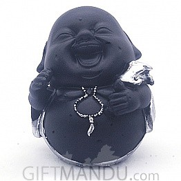 "Laughing Buddha Showpiece Gift (4.5"" Tall) - SP-6600"