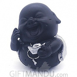"""Laughing Buddha Showpiece Gift (4.5"""" Tall) - SP-6603"""
