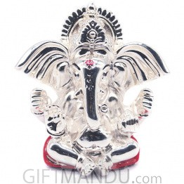 Silver Wax Idol of Karnakanta Ganesh Ji