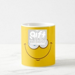 Smiley Face Printed Attractive Coffee Mug