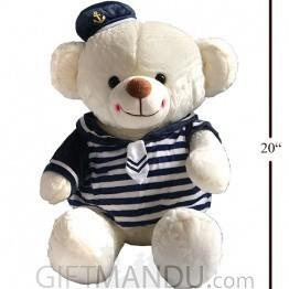 Super Cute Sailor Teddy Bear (20 Inch Tall)