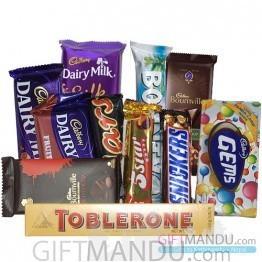 Chocolate Mix Bag (11 Chocolates)