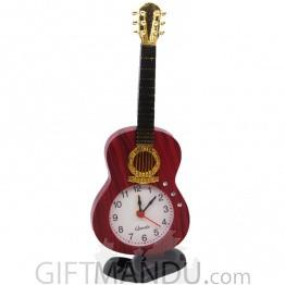 Art Violin Table Clock
