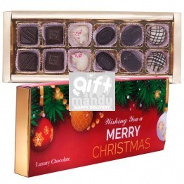 Shokolade Assorted Christmas Gourmet Chocolate Box 263g