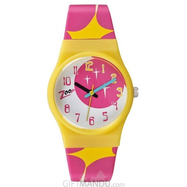 Titan Zoop Multi Color Dial Analog Watch for Kids (C3028PP07)