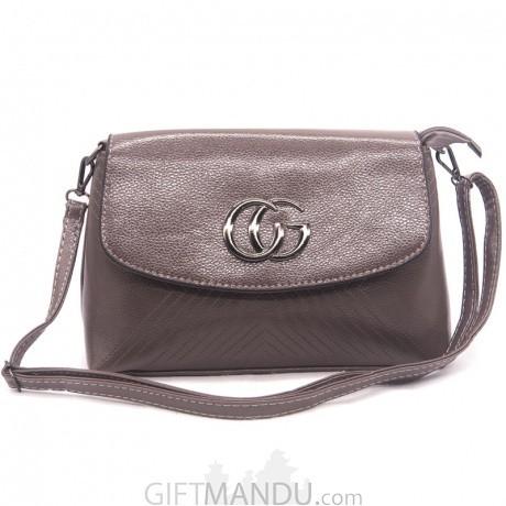 Buy Designer Ladies Side Bag - Gray Online  2e826cb8b2caa