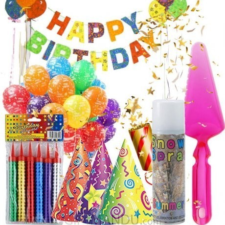 Happy Birthday Kits Happy Celebration 7 Items Send Gifts To