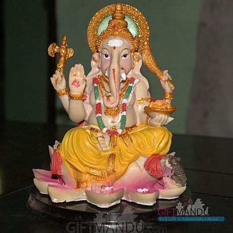 Ganesh Ji Statue (7 inch tall) - send gifts to Nepal