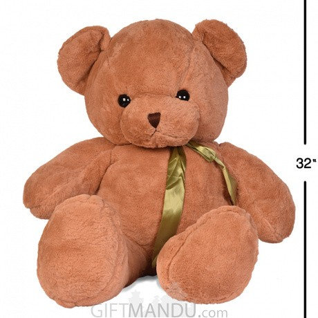 56065e3e4adc4 ... Brown Medium Size Teddy Bear (32 Inch Tall) ...