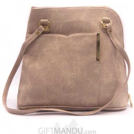 ... Modern Accessorize Side Bag For Girls (Cream) ... 187b9b5bbe982