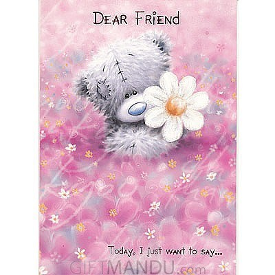 Dear friend greeting card send gifts to nepal gifts to nepal dear friend greeting card dear friend greeting card m4hsunfo