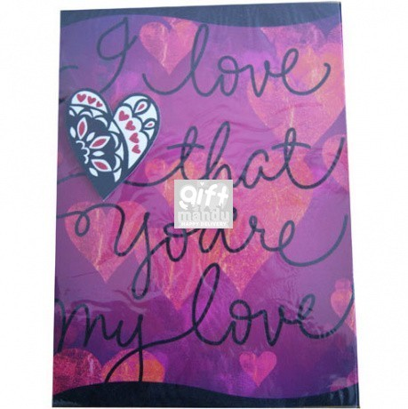 I Love That You're My Love - Archies Large Size Card