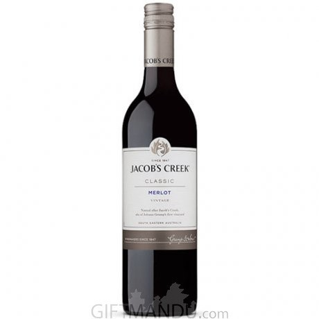 Jacob's Creek Classic Merlot 750ml - Red Wine