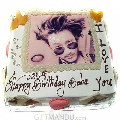 Memorable Photo Cake Print Any On For Kathmandu Valley