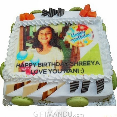 Photo Cake Print Any For Kathmandu Valley