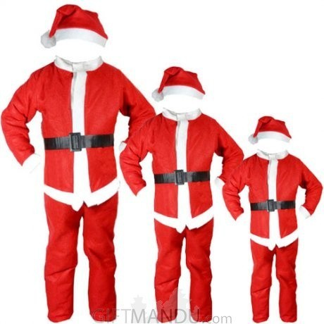 9b02ff0eef3 Christmas Santa Dress For Kids (0-13 Years)