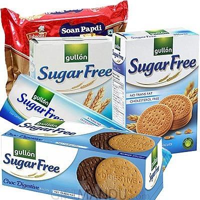 Sugar free biscuits and sugar free soan papdi 5 items send sugar free biscuits and sugar free soan papdi 5 items negle Choice Image