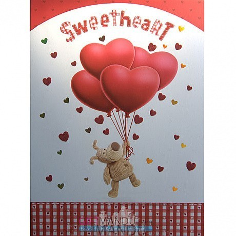 Sweetheart archies big size greeting card send gifts to nepal sweetheart archies big size greeting card bookmarktalkfo Gallery