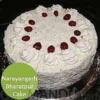 White Forest Cake to Narayangarh Bharatpur