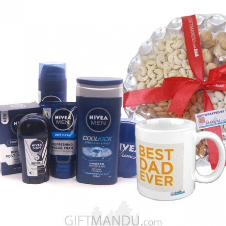 nivea personal care set gift for dad gifts to nepal giftmandu