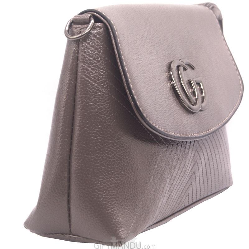 61927f382ee4 Buy Designer Ladies Side Bag - Gray Online