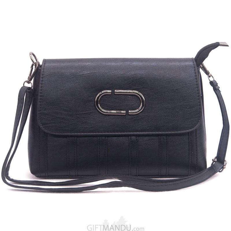 7a8213037b11 Buy Designer Ladies Side Bag Black Online