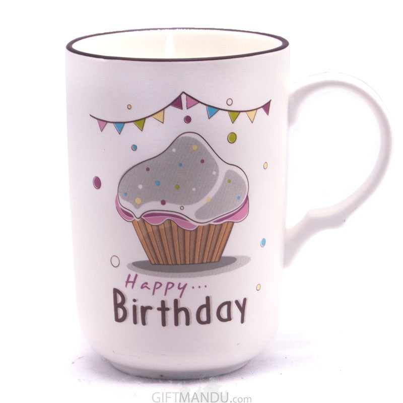Happy Birthday Ceramic Coffee Mug