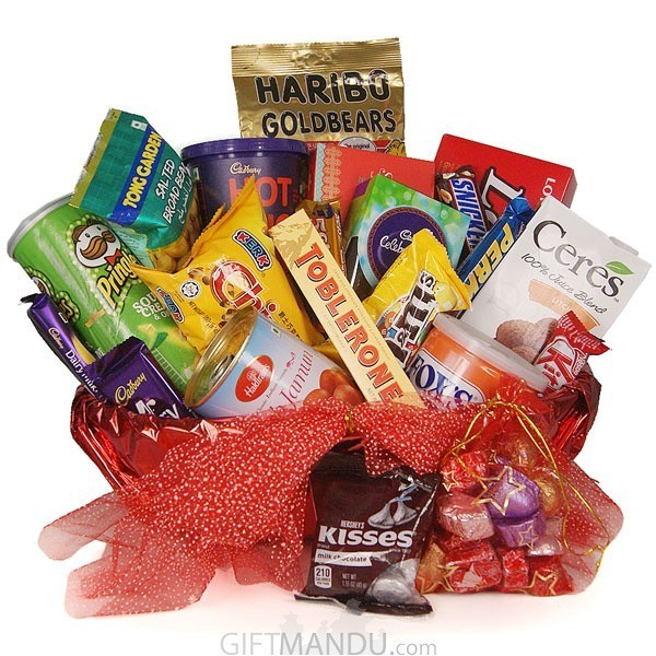 Chocolate gift basket combo send gifts to nepal birthday gifts chocolate gift basket combo send gifts to nepal negle Choice Image