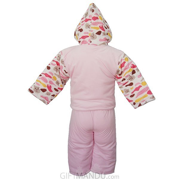 Jacket and Trouser Set For Babies (Pink) - Send Gifts to Nepal