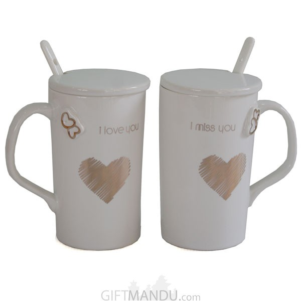couple coffee mug i love you i miss you valentines gift send