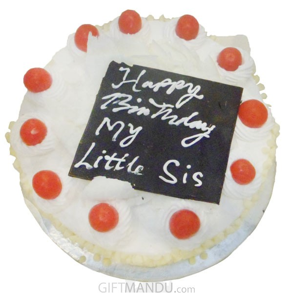Star Hotel White Forest Cake Online Delivery Gifts To Nepal