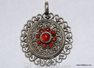 Sterling Silver Coral...