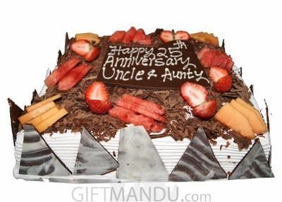 Special Large Black Forest Cake
