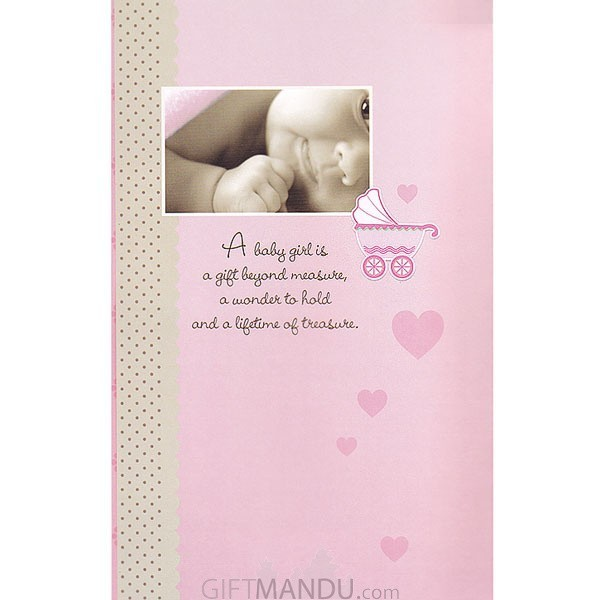 Its a baby girl greeting card send gifts to nepal gifts to inside its a baby girl greeting card send gifts to nepal m4hsunfo