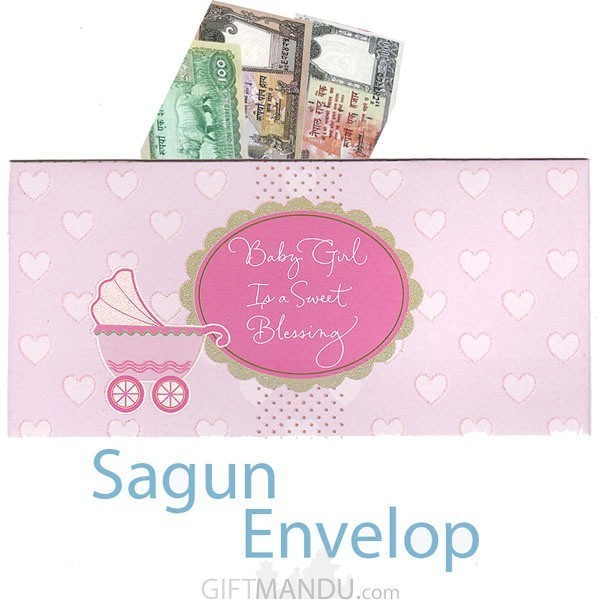 ... Sagun Envelop - It's A Baby Girl - Greeting Card - Send gifts to Nepal ...