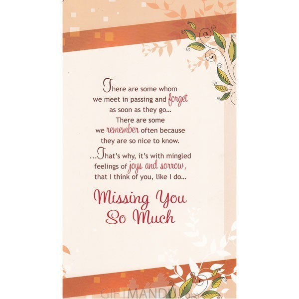 A note to say miss you greeting card send gifts to nepal gifts a note to say miss you greeting card send gifts to nepal m4hsunfo