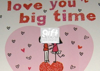 Love you big time archies large size greeting card send gifts to love you big time archies large size greeting card m4hsunfo