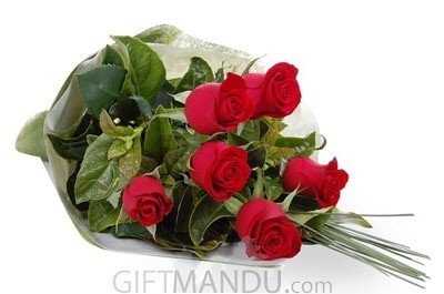 Fresh Roses Bunch