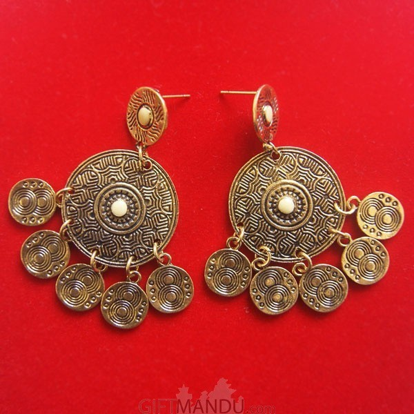 Dangle Earrings Newari Designed