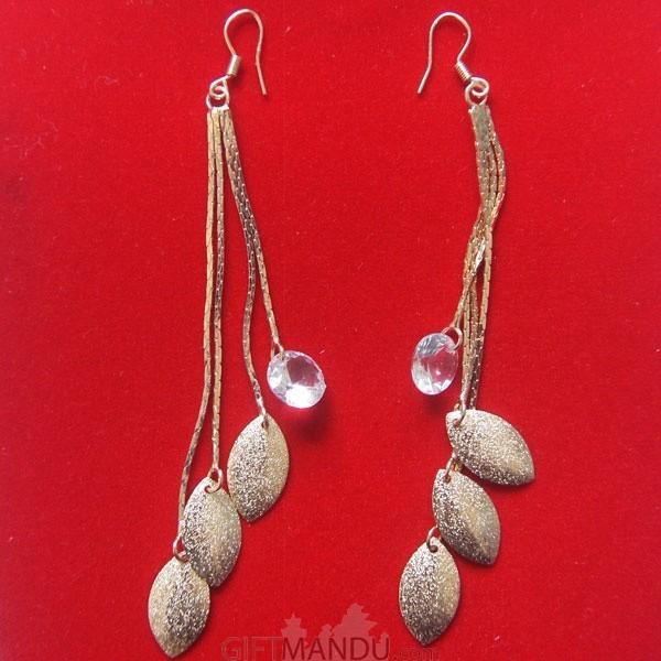 Long Chain Jhumka Earring