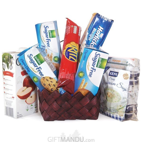 Heart Healthy Basket for Mother's Day - (8 items)