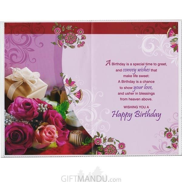 A Warm Birthday Wishes