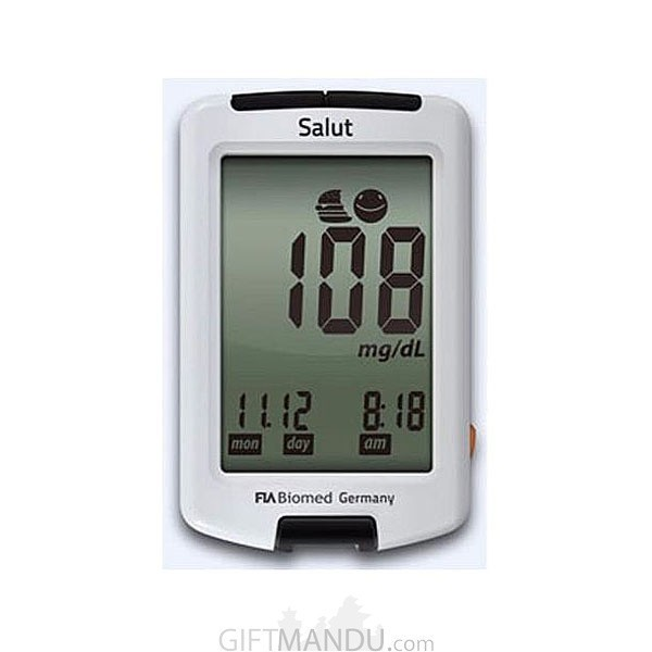 FIA Biomed Blood Glucose Meter