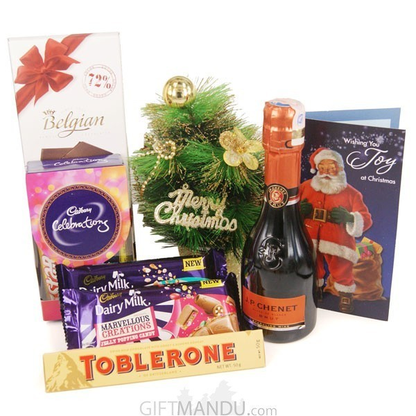 Christmas Special Wine and Chocolates