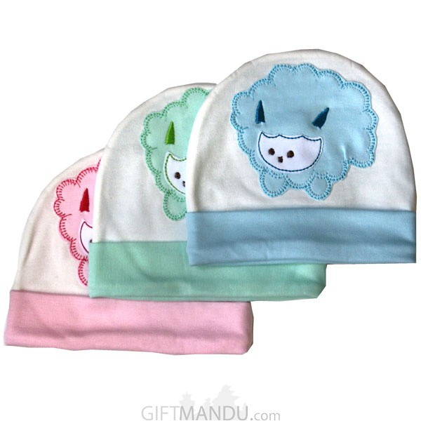 Cotton Cap For Babies (Three Colors Available)