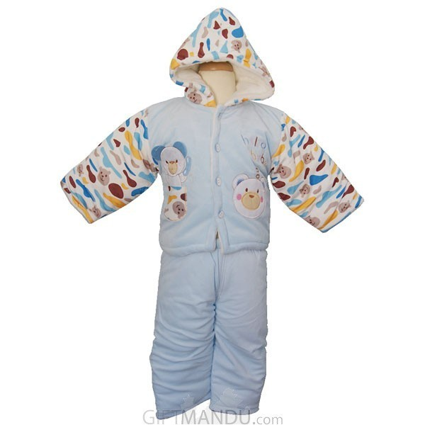 Jacket and Trouser Set For Baby (Blue)