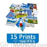 15 Photo Prints (4 X 6) Gift